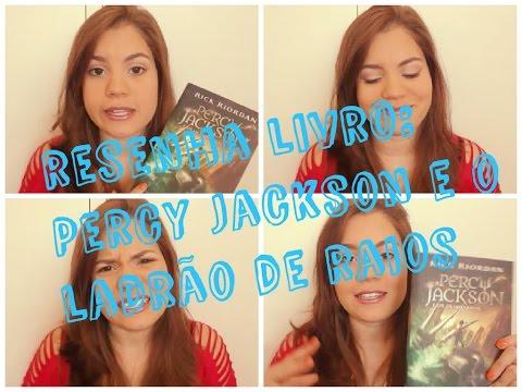 Resenha Percy Jackson e o ladrão de raios