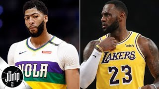 'I've been told there's no way Anthony Davis' will be traded to Lakers - Marc J. Spears   The Jump
