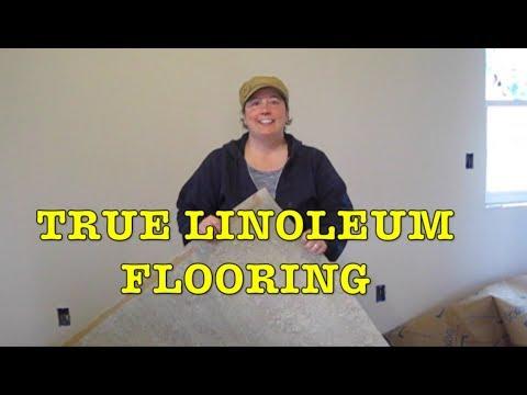 Building Farmhouse #16: Installing True Linoleum Flooring (Forbo Marmoleum)