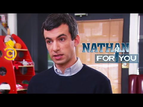 Comedian, Nathan For You, tricks a real lawyer into singing a document without reading