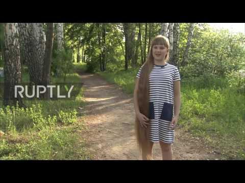 Meet the 12-year-old 'Siberian Rapunzel'