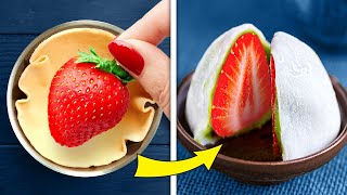 28 AMAZINGLY DELICIOUS FOOD HACKS || SIMPLE PASTRY AND DUMPLING RECIPES