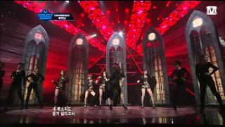 120411 4 MINUTE - Dream Racer and Volume Up @ M countdown COMEBACK