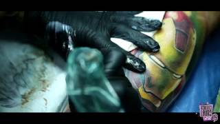 Roberto Lauro IRON MAN TATTOO2