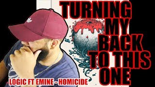 {{ REACTION }} Logic - Homicide (feat. Eminem) (Official Audio) Man What Was This?