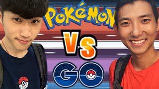 Pokemon GO : Taiwan➲ Pokemon Discard Challenge 【Kouki & Pierre】