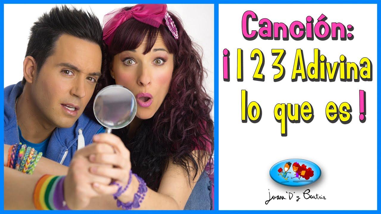 ADIVINANZAS - ¡1 2 3 adivina lo que es!  de Juan D y Beatriz