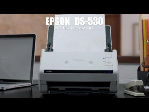 Epson DS-530 Color Duplex Document Scanner | Workgroup Document
