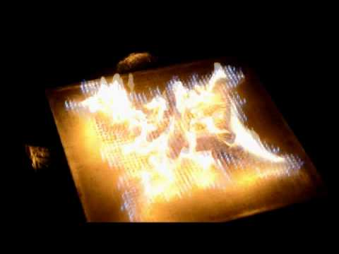 Pyro Board Display Uses Tiny Flames As Pixels
