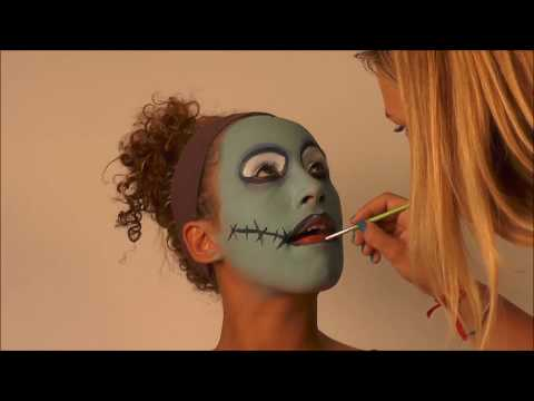 Halloween Make-up Tutorial: Sally