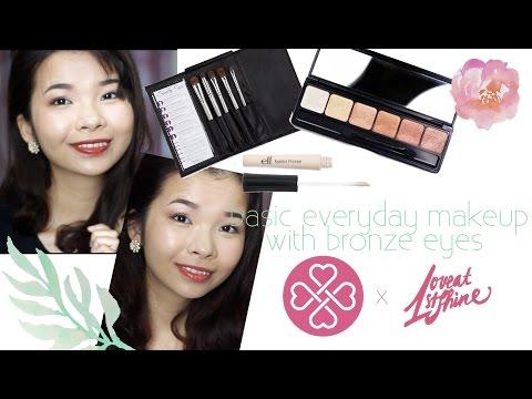 Makeup Mắt Nâu Đồng Hàng Ngày
