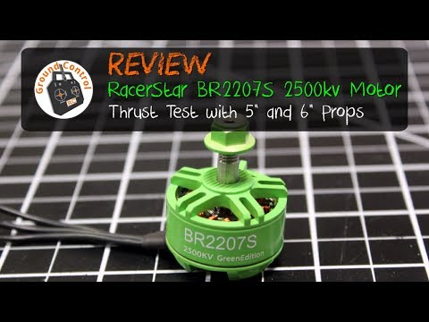Review - RacerStar BR2207 2500kv Motor Green Edition from Banggood