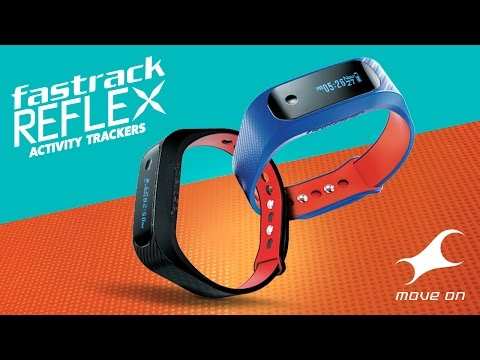 Fastrack Reflex Activity Tracker - Gear Up For Some Action