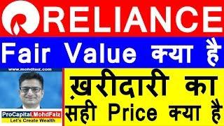 RELIANCE SHARE PRICE ANALYSIS | ख़रीदारी का सही Price क्या है | RELIANCE SHARE LATEST NEWS
