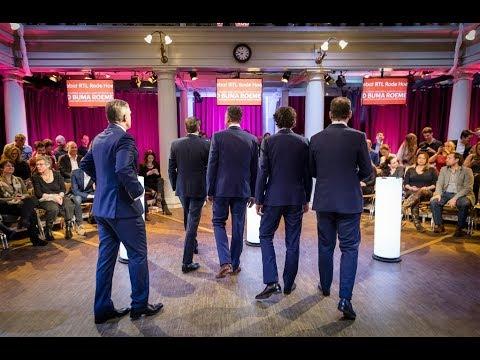 Live: RTL Verkiezingsdebat met acht fractievoorzitters