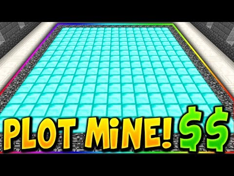THIS PLOT MINE MAKES EASY $$$! (Minecraft OP Prisons)