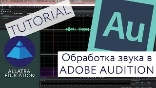 Обработка звука в программе Adobe Audition / Audio signal processing in Adobe Audition