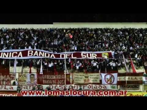 """""""La Hinchada de Los Andes frente a Flandria"""" Barra: La Banda Descontrolada • Club: Los Andes • País: Argentina"""