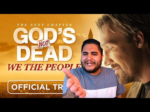 Christian Nationalism is Anti Christ - God's Not Dead 4 Trailer Reaction