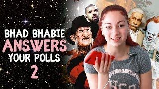 BHAD BHABIE reacts to your poll questions part 2 | Danielle Bregoli