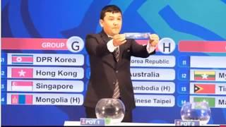 AFC U23 - 2020: Lá Thăm đưa Việt Nam đụng Những Kình địch