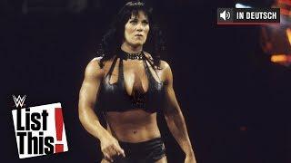 Wie Chyna sich mit Männern anlegte - WWE List This! (DEUTSCH)