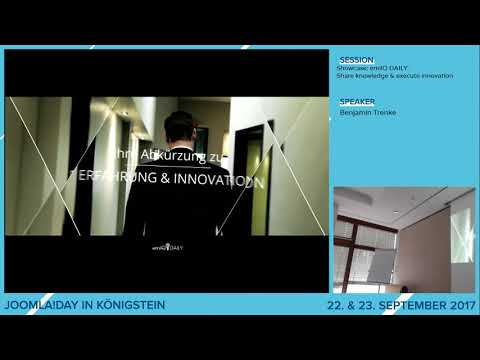 JD17DE - Showcase: emilQ DAILY® - SHARE knowledge & EXECUTE innovation!