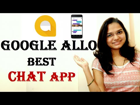 Google Allo | How to use Google Allo app [Hindi] | Allo Review | Smart Messaging App