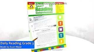 Daily Reading Comprehension Grade 3 Book By Evan-Moor EMC3453