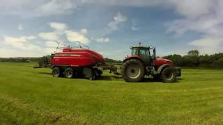 Silage 17 M&J Agri Contracting: Big Square Silage Baling