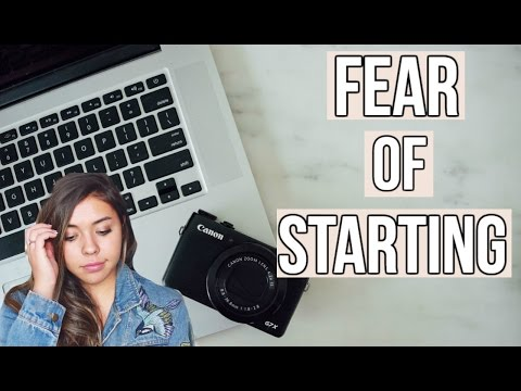 Overcoming the FEAR of Starting a YouTube Channel