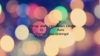 """Video thumbnail of """"Awie   Di Penjara Janji  Kord & Lirik"""""""