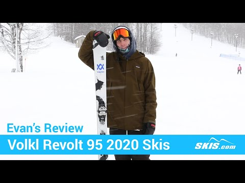 Video: Volkl Revolt 95 Skis 2020 6 40