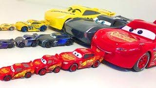 Тачки 3 Игрушки Молния Маквин Джексон Шторм Машинки Видео для Детей