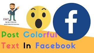 How To Write Colored Text/status On Facebook