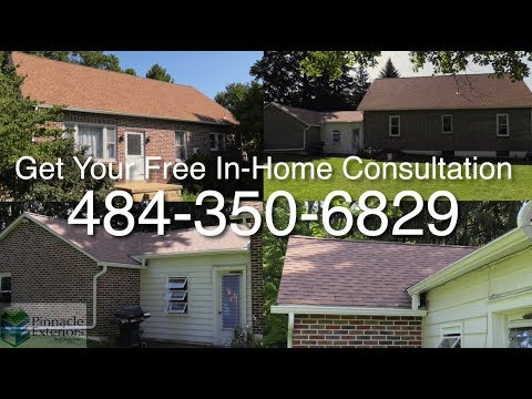Listen to what Mike had to say about his new home lifetime shingles he had installed by the skilled crew at Pinnacle Exteriors. Mike plans to get some doors put on as well at his Alburtis home, and hopefully he feels the doors tie the entire home together as he feels about the new roof he is now enjoying.