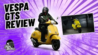 Vespa GTS Super 125 Review!