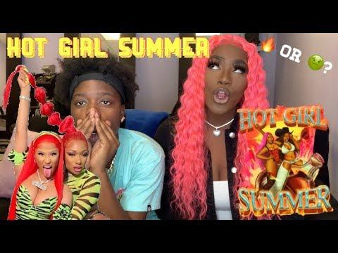 Megan Thee Stallion, Nicki Minaj, Ty Dolla $ign- Hot Girl Summer(REACTION)