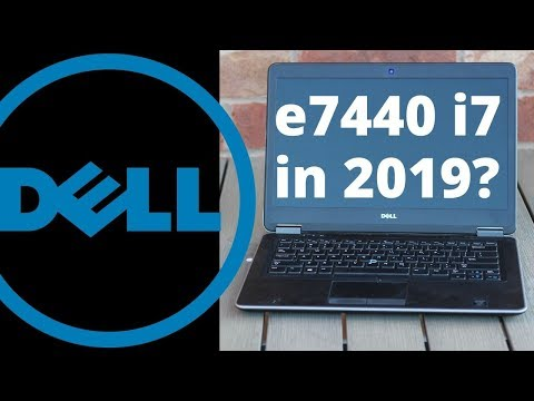Dell e7440 quick overview and review. A solid $200 used  i7 laptop