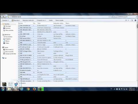 Como grabar CD mp3 - grabar CD de audio con windows media player