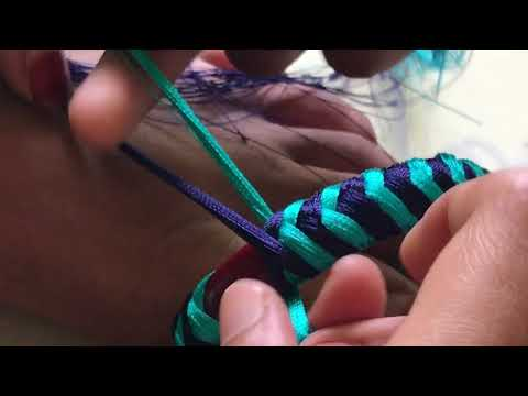 Trendy thread bangles