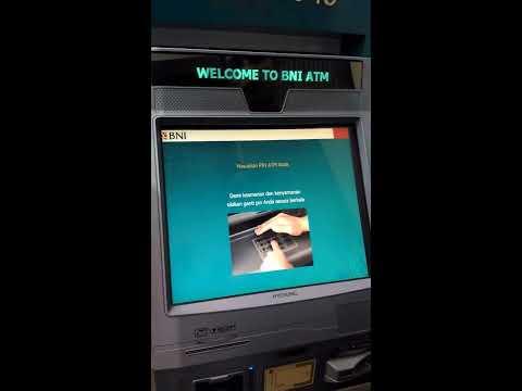 Cara pembayaran BPJS kesehatan di mesin atm BNI