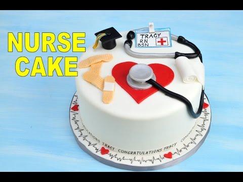 Идея торта для медсестры