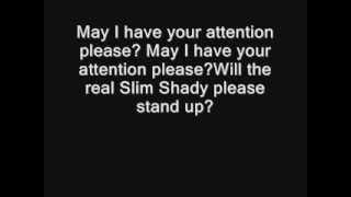 Eminem - The Real Slim Shady [UNCENCORED] [LYRICS]