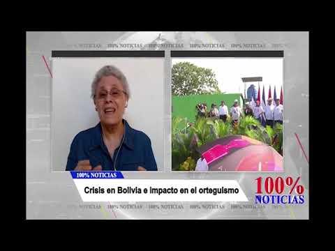 100% Entrevistas Dora María Téllez analiza crisis en #Bolivia e impacto en orteguistas en #Nicaragua