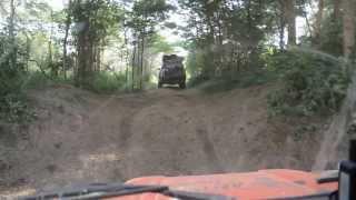 Driving Through Nechisar National Park In Ethiopia