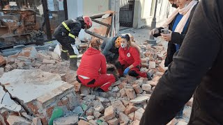 video: 'People are looking for their loved ones': Seven dead as Croatia rocked by powerful 6.4 earthquake