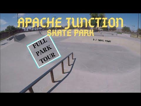 Apache Junction Skate Park Full Skate Park Tour Apache Junction, Arizona (Phoenix)