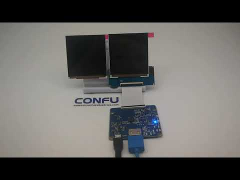 Confu HDMI to MIPI DSI driver board 1 39 inch 400x400 circular round