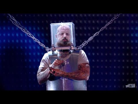 BC Man Defies Death for Simon Cowell on 'Britain's Got Talent' (видео)